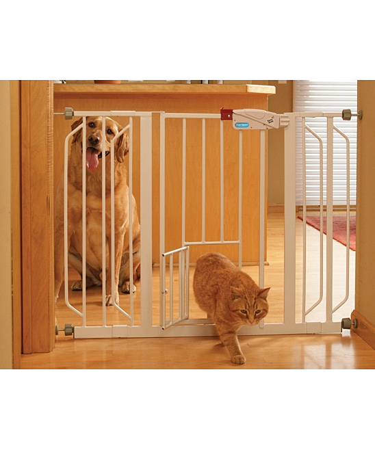 Zebra Pet Gate Walk-through Pet Gate