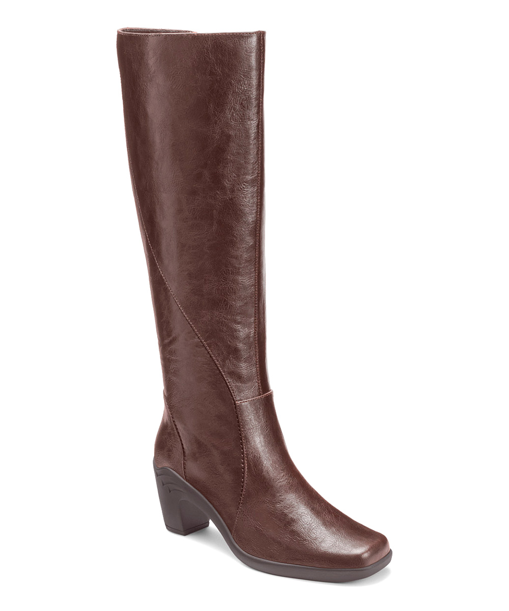 brown wide calf boots 28 images journee collection