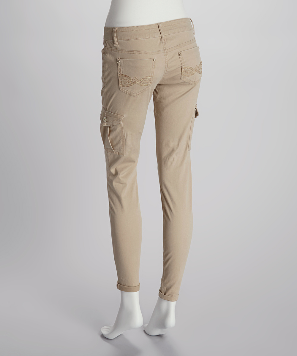 Luxury Women39s Khaki Cargo Pants 909  Clothing  Pinterest