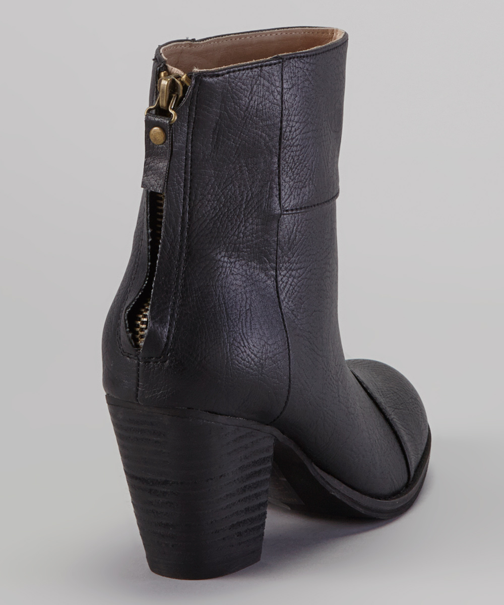 chelsea crew black holster boot zulily