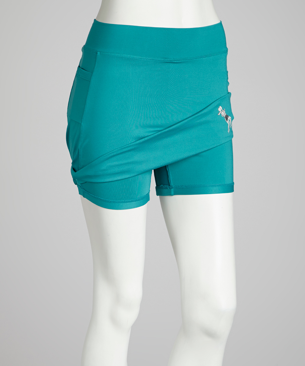 running skirts turquoise athletic skirt zulily