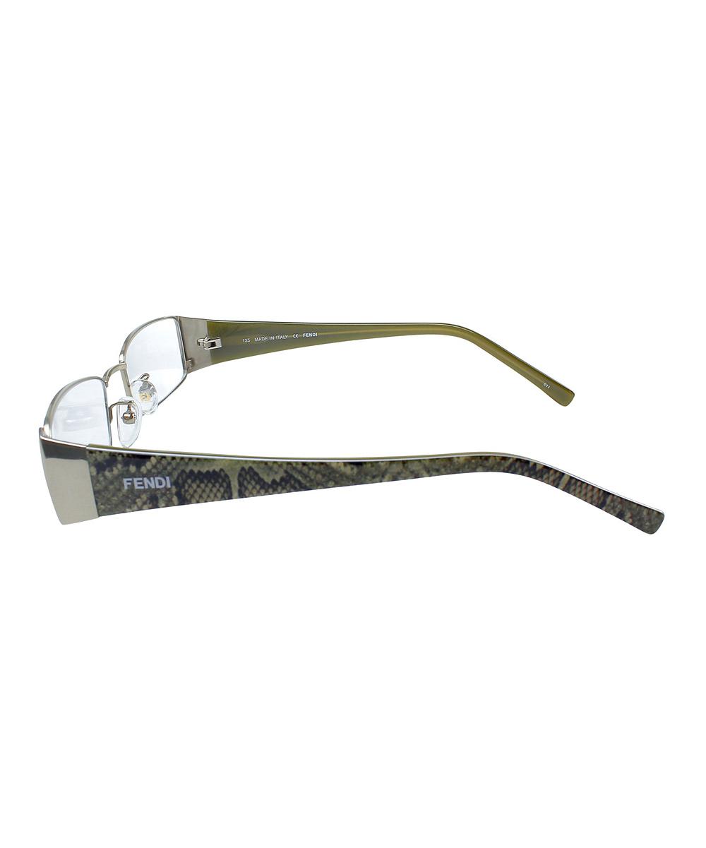 FENDI Silver 51-mm Wire-Rim Eyeglasses zulily