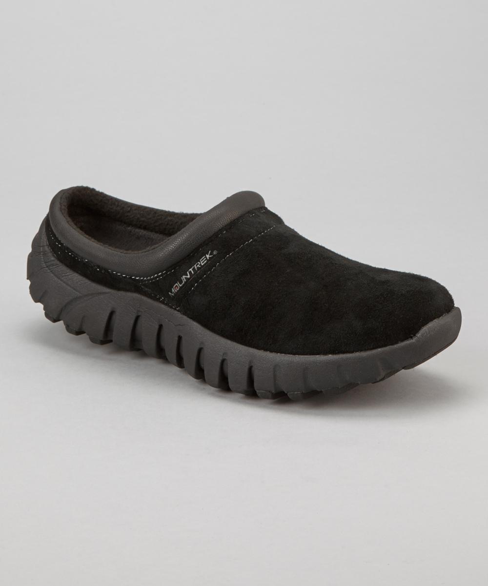 Black Suede Lucia Slip-On Shoe - Women