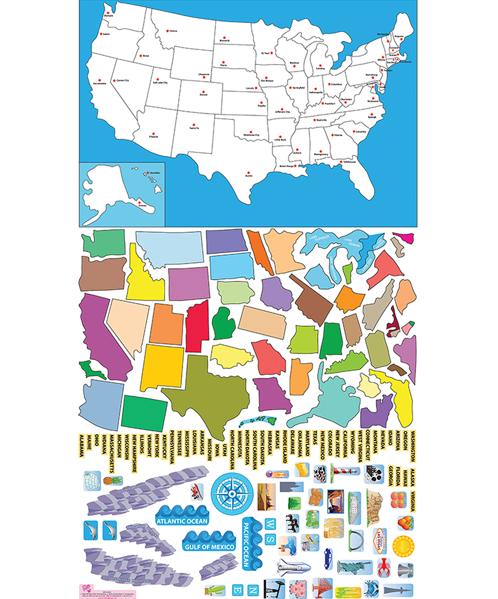 Interactive Map Usa Learn States Interactive Map Usa Learn States