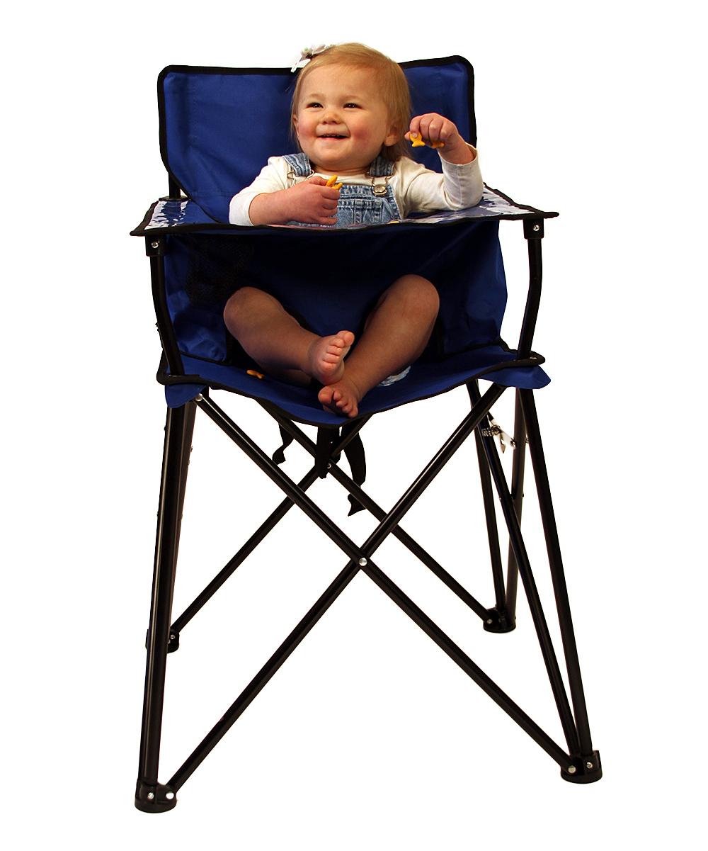 blue travel high chair free shipping