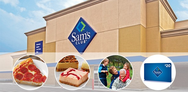 Sam's Club® Savings Membership with Gift Card and Free Merchandise