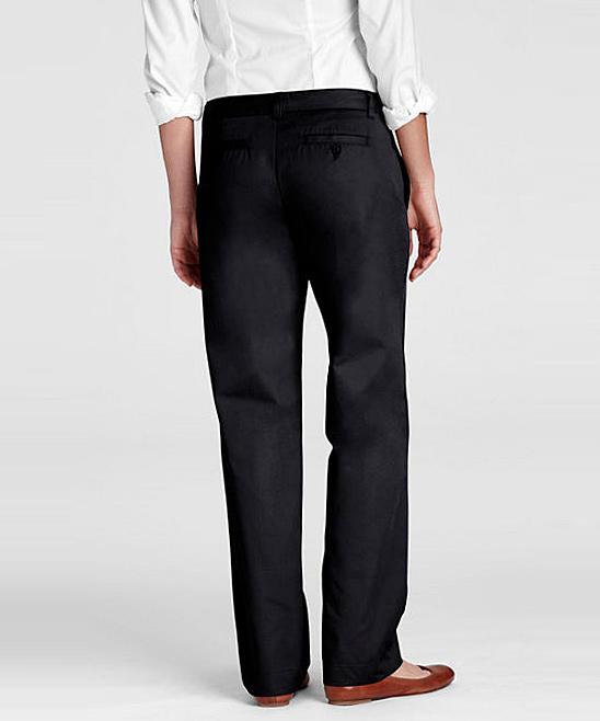 Model  Womens  Clothing  Pants  Vans Blackheart Chino Pant Black