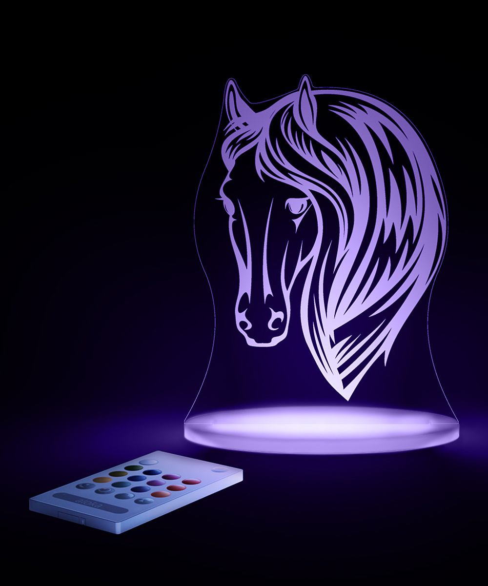 Aloka Designs Horse Color Changing Led Night Light Zulily