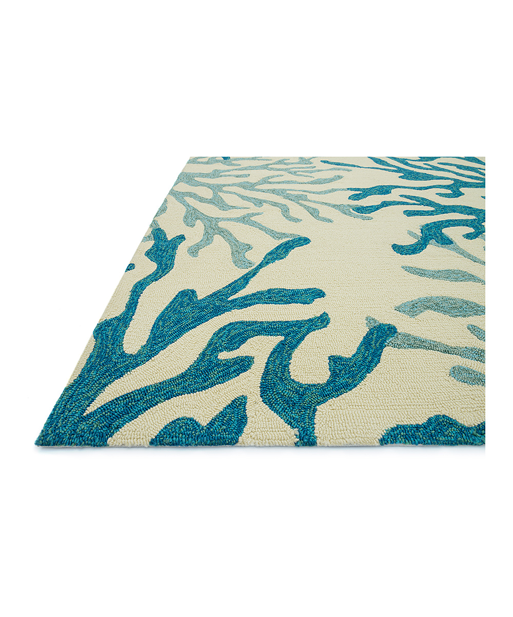 Blue Coral Ventura Indoor Outdoor Rug