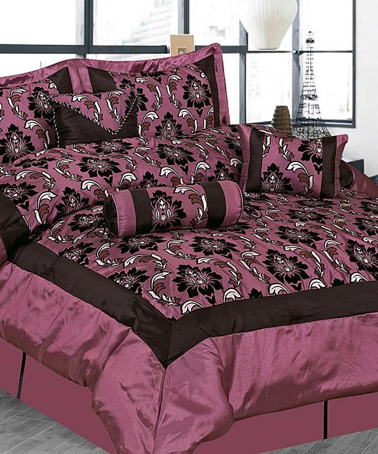 Light purple regal luxury comforter set zulily - Light purple comforter set ...