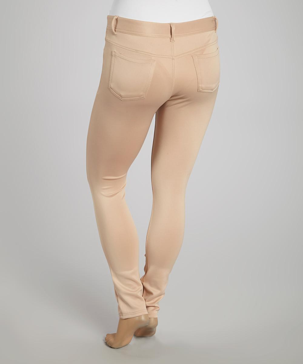 Innovative American Living NEW Beige Womens Size 12 StraightLeg Khaki Chino Pants  Wal