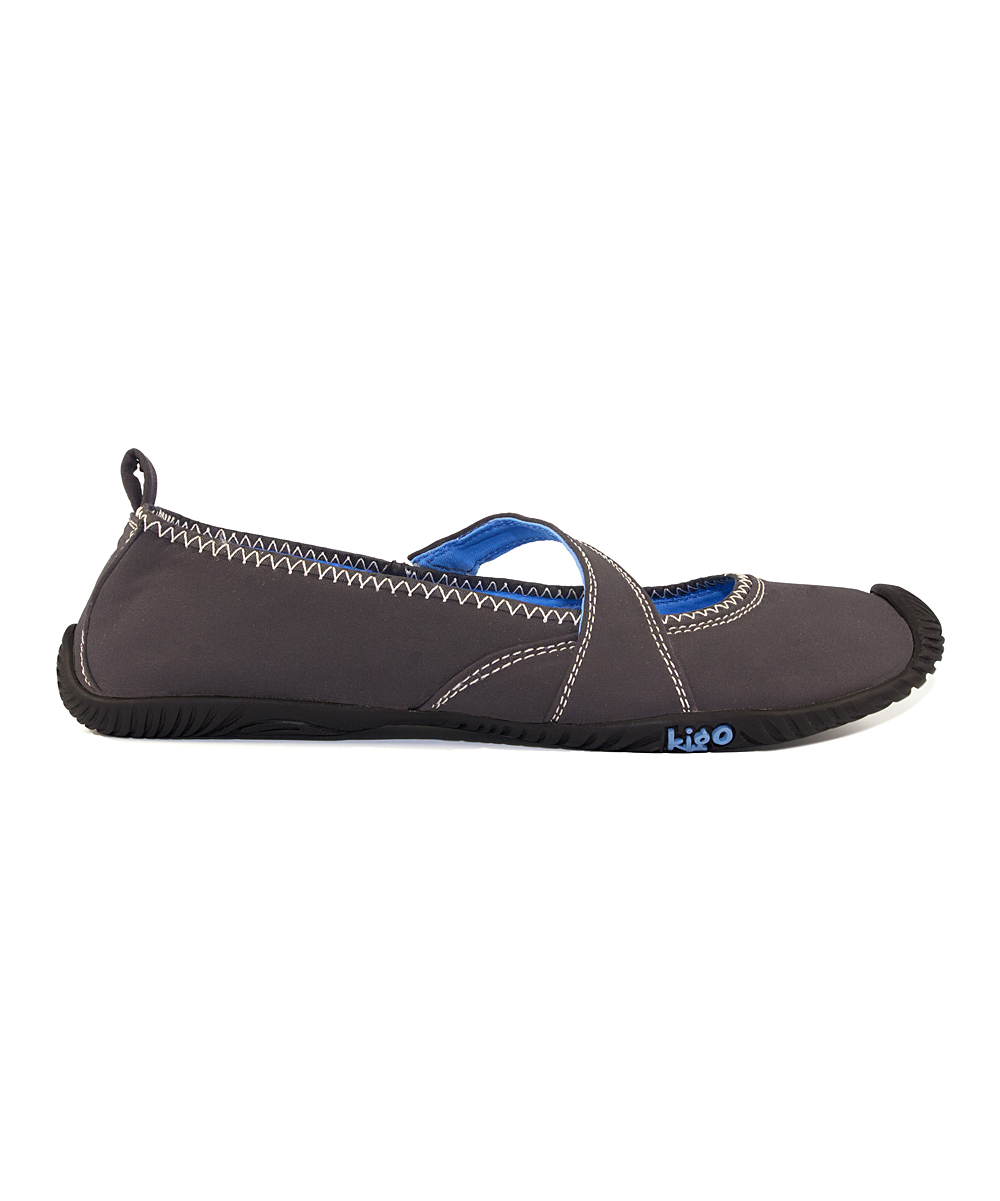 kigo black light gray flit minimalist shoe zulily