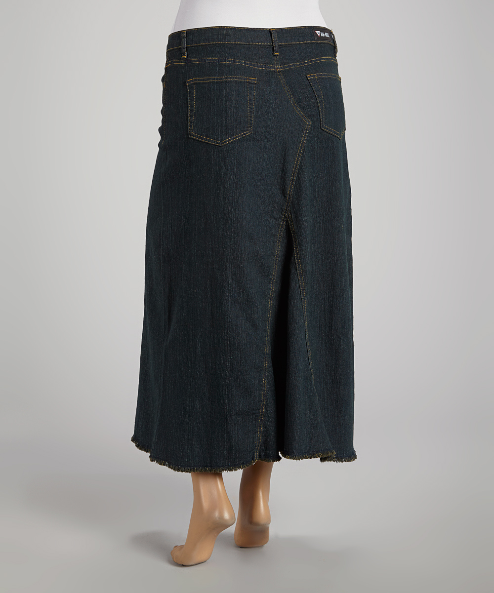 be clothing vintage denim maxi skirt plus zulily