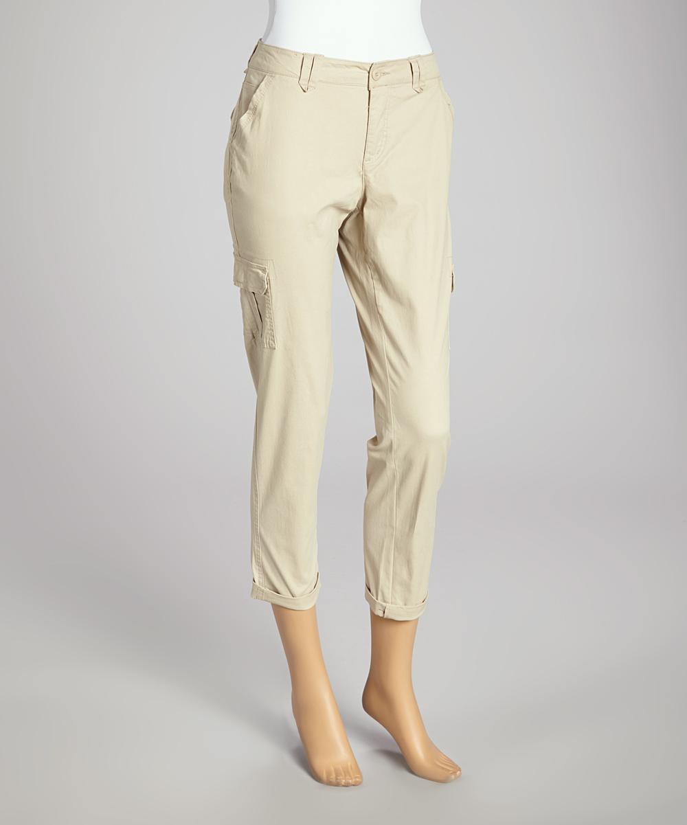 Cool Khaki Cargo Pants Women Hotselling 2013 Summer Casual Pants Female