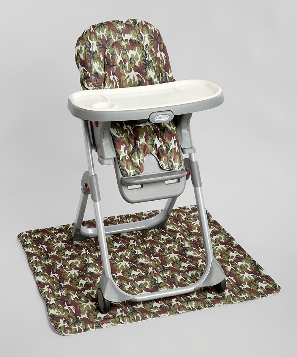 New Gen Baby Green Camo High Chair Floor Mat