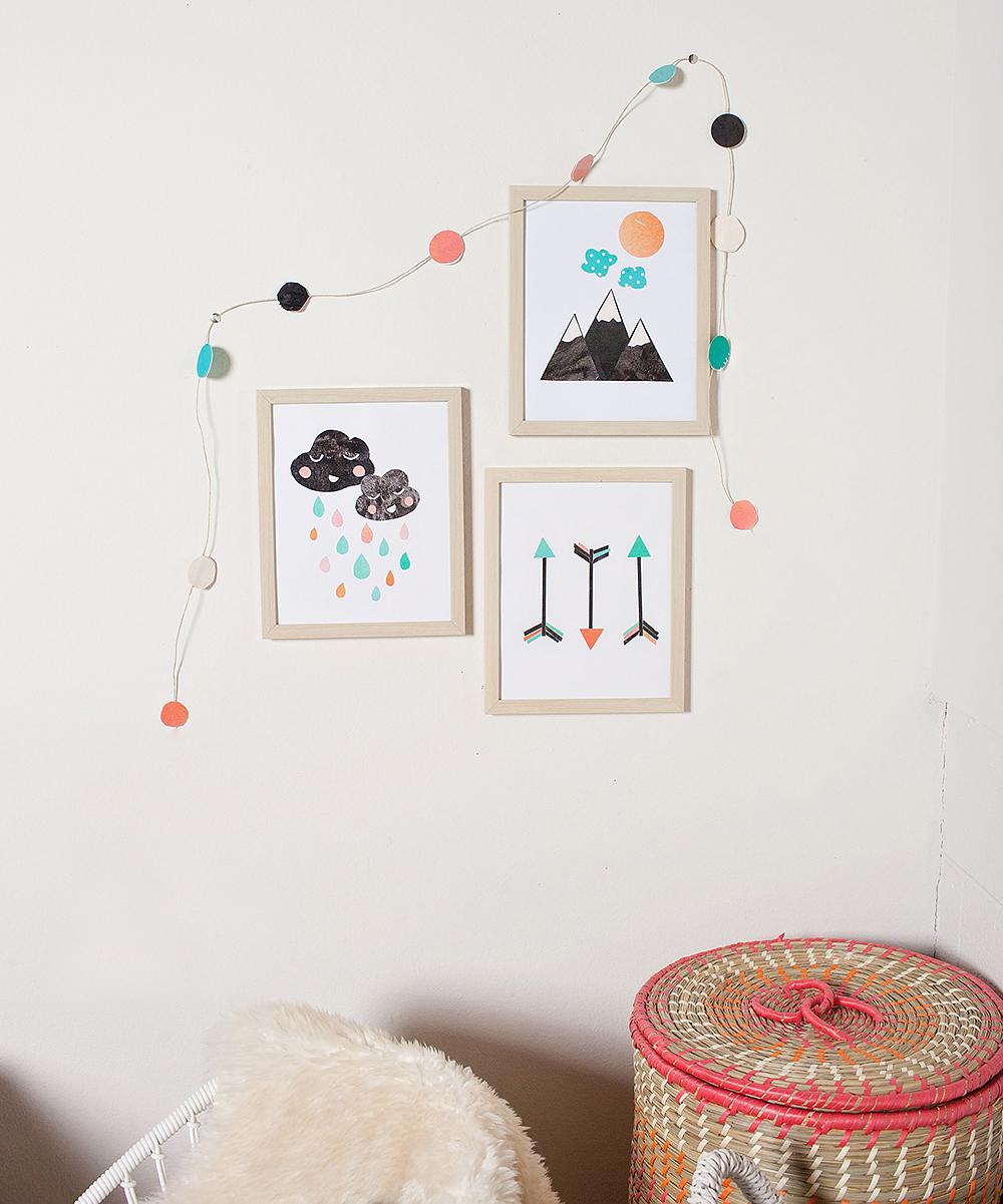 Children Inspire Design Nature Baby DIY Room Decoration Set Zulily