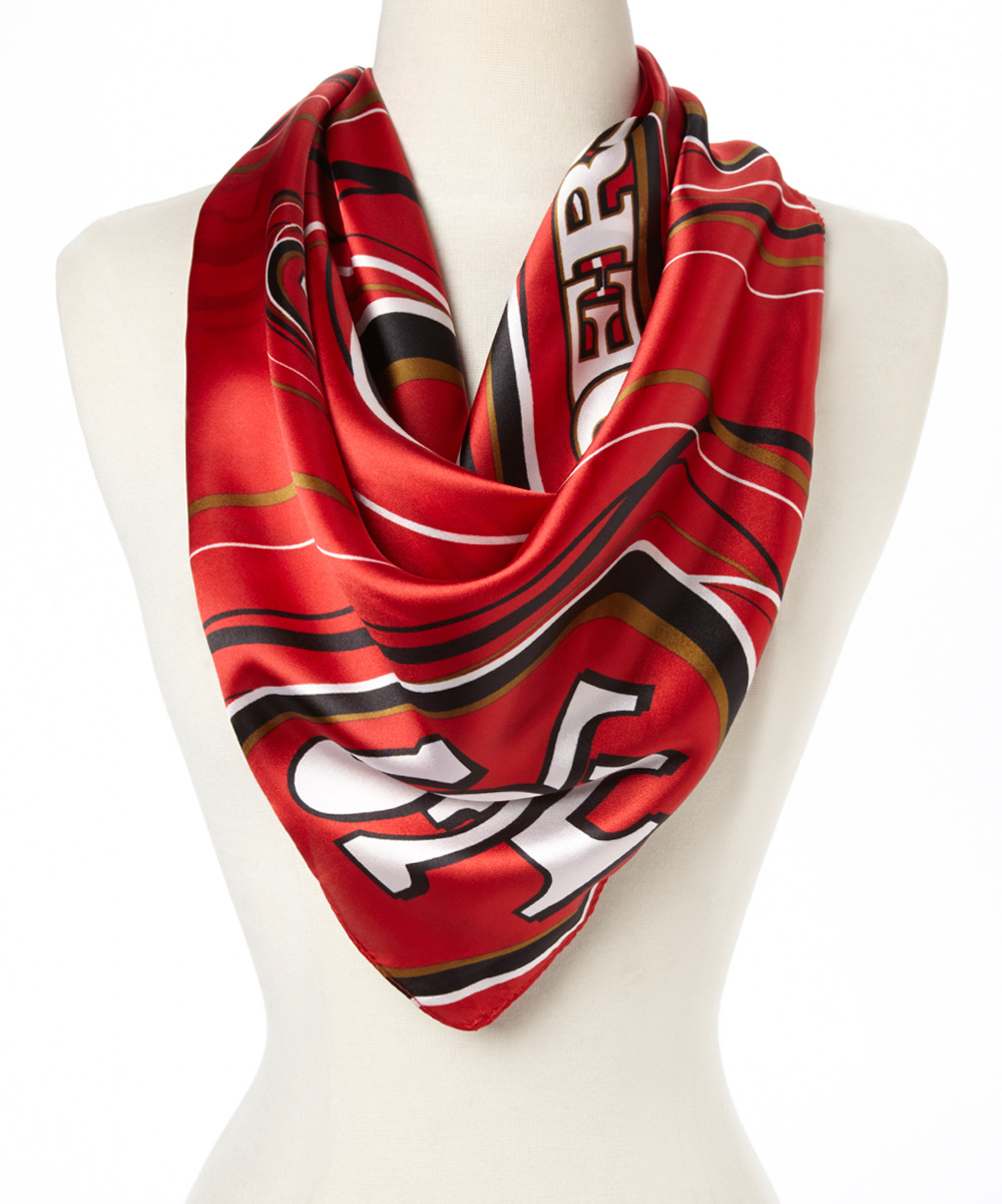 st louis wholesale san francisco 49ers silky scarf zulily