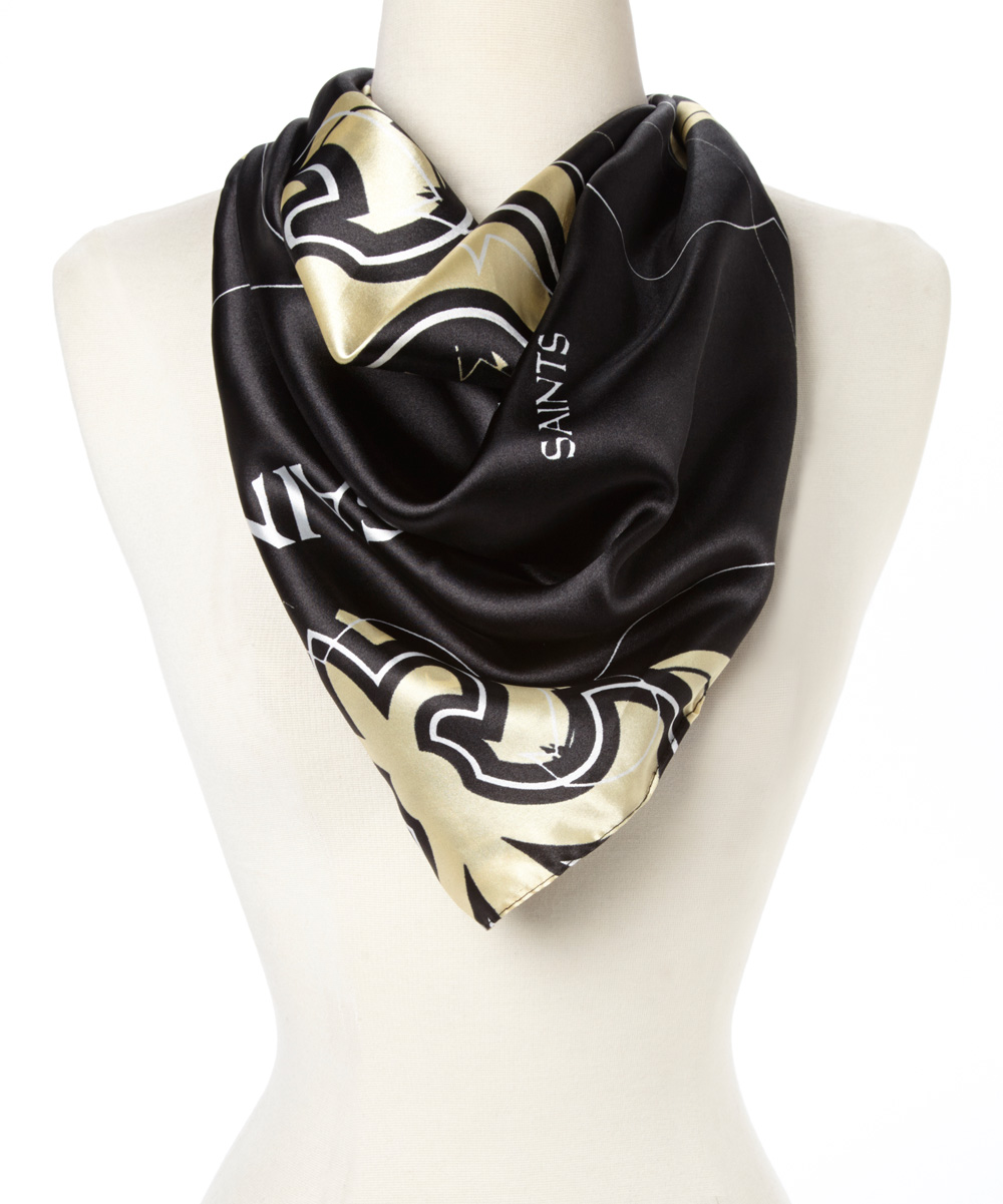 st louis wholesale new orleans saints silky scarf zulily