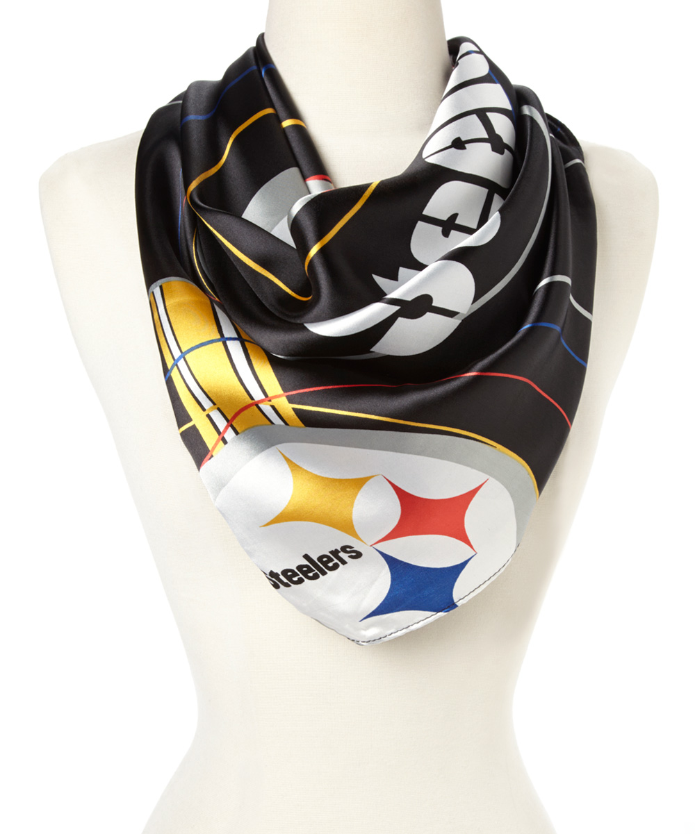 pittsburgh steelers silky scarf