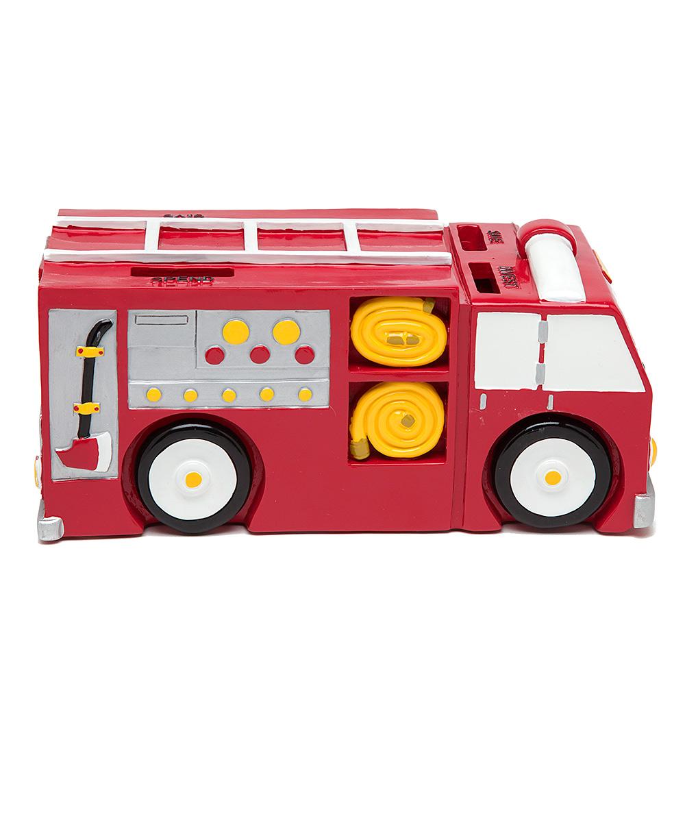 Money Scholar Fire Truck Bank  zulily