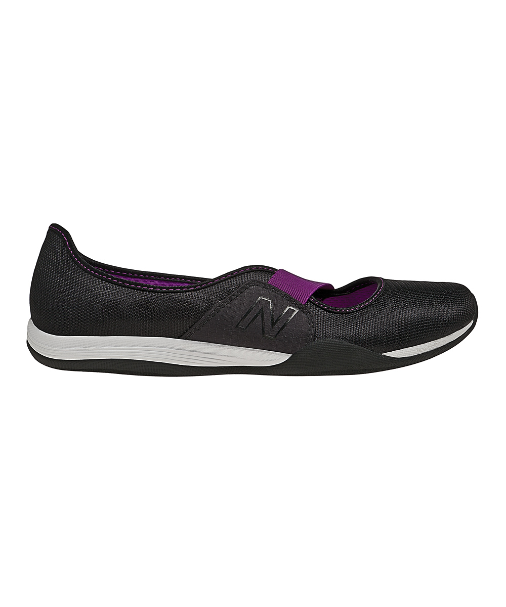 new balance black orchid 101 athletic slip on shoe zulily