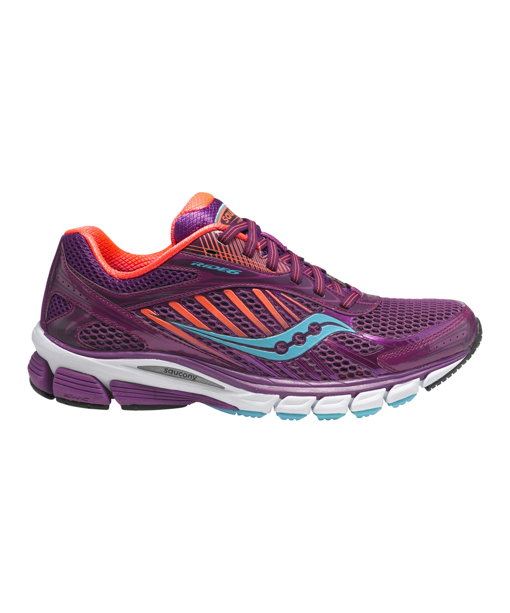 Saucony Berry & Coral Ride 6 Running Shoe - Women | zulily