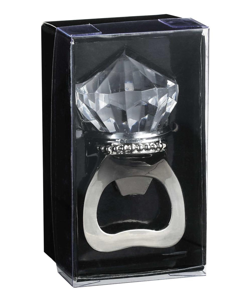 ganz diamond ring bottle opener zulily. Black Bedroom Furniture Sets. Home Design Ideas
