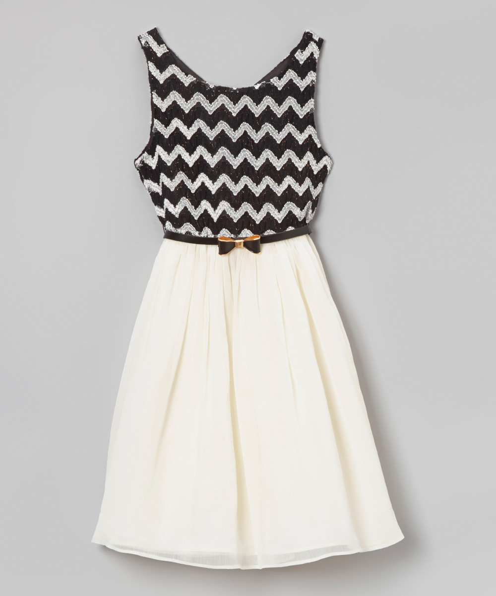 Perfect Take A Look At This Black White Vine Dress By Summer Soire