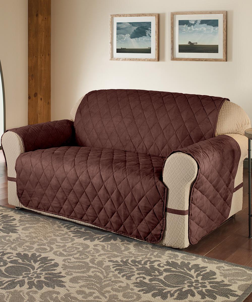 Jeffrey Fabrics Chocolate Total Furniture Protector Zulily