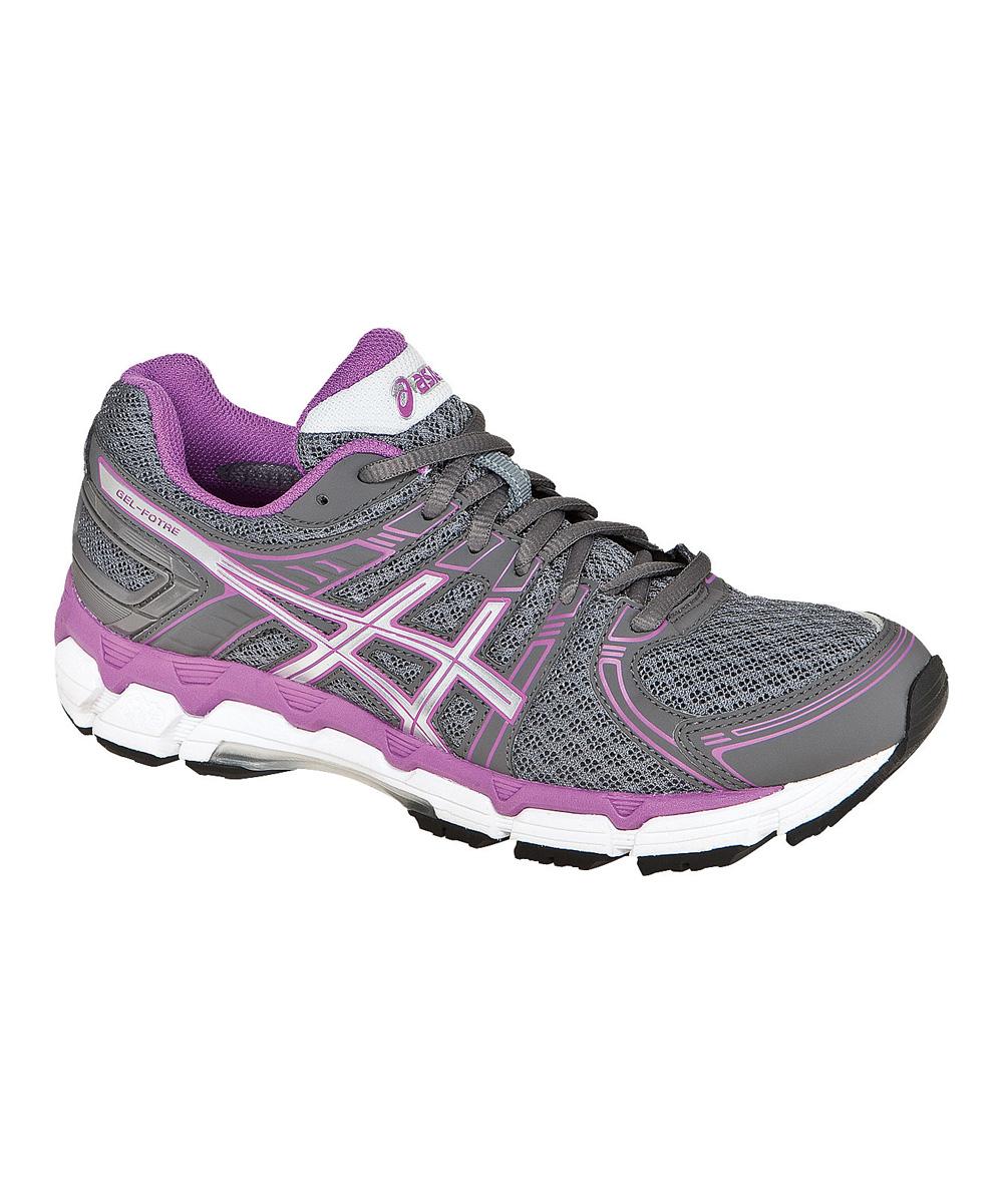 Storm & Purple Gel-Forte Running Shoe - Women