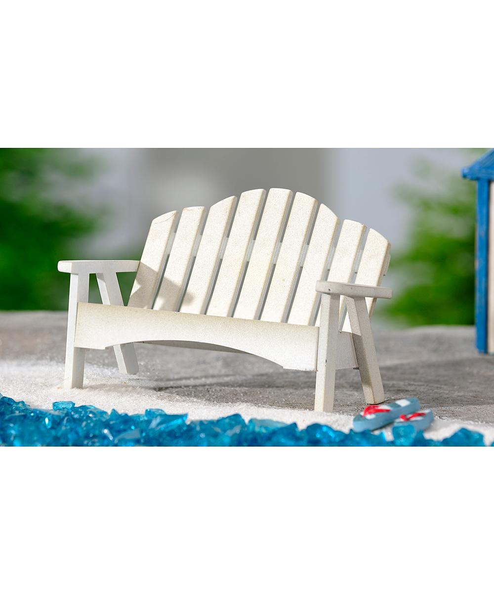 Garden Bench Mini Figurine Zulily