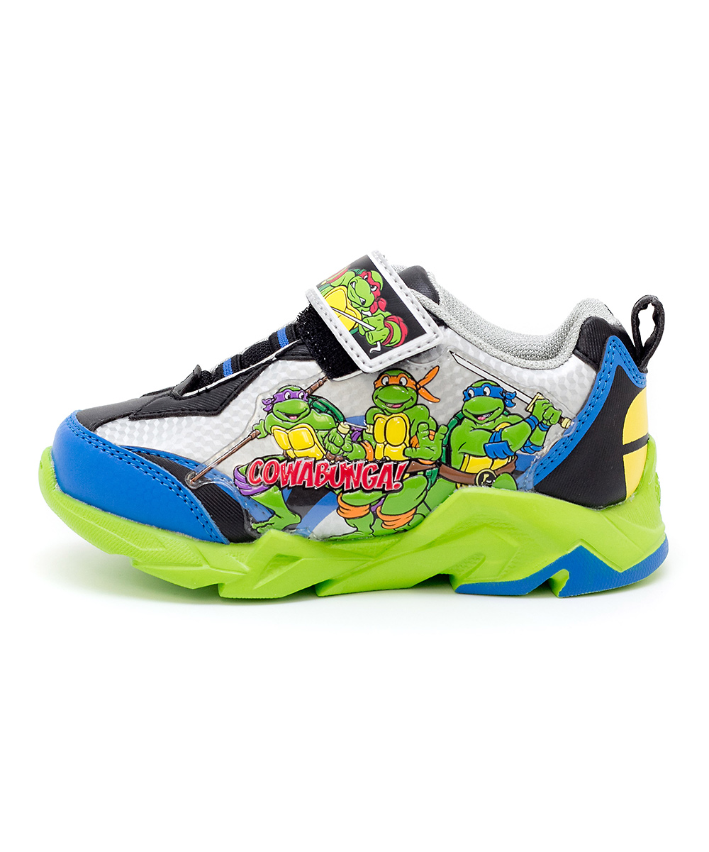 green blue teenage mutant ninja turtles light up sneaker. Black Bedroom Furniture Sets. Home Design Ideas