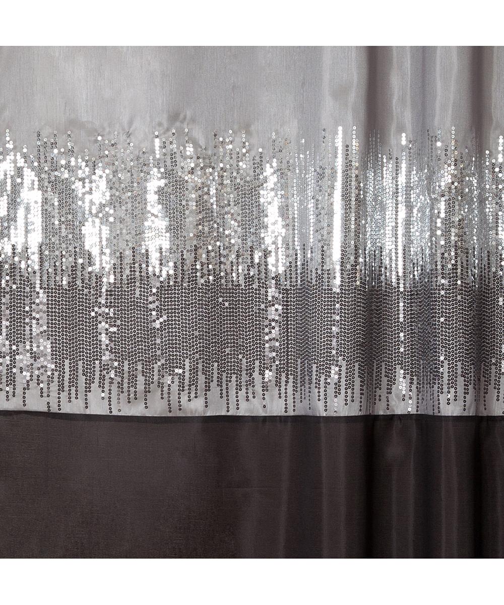 Black Gray Night Sky Shower Curtain Zulily