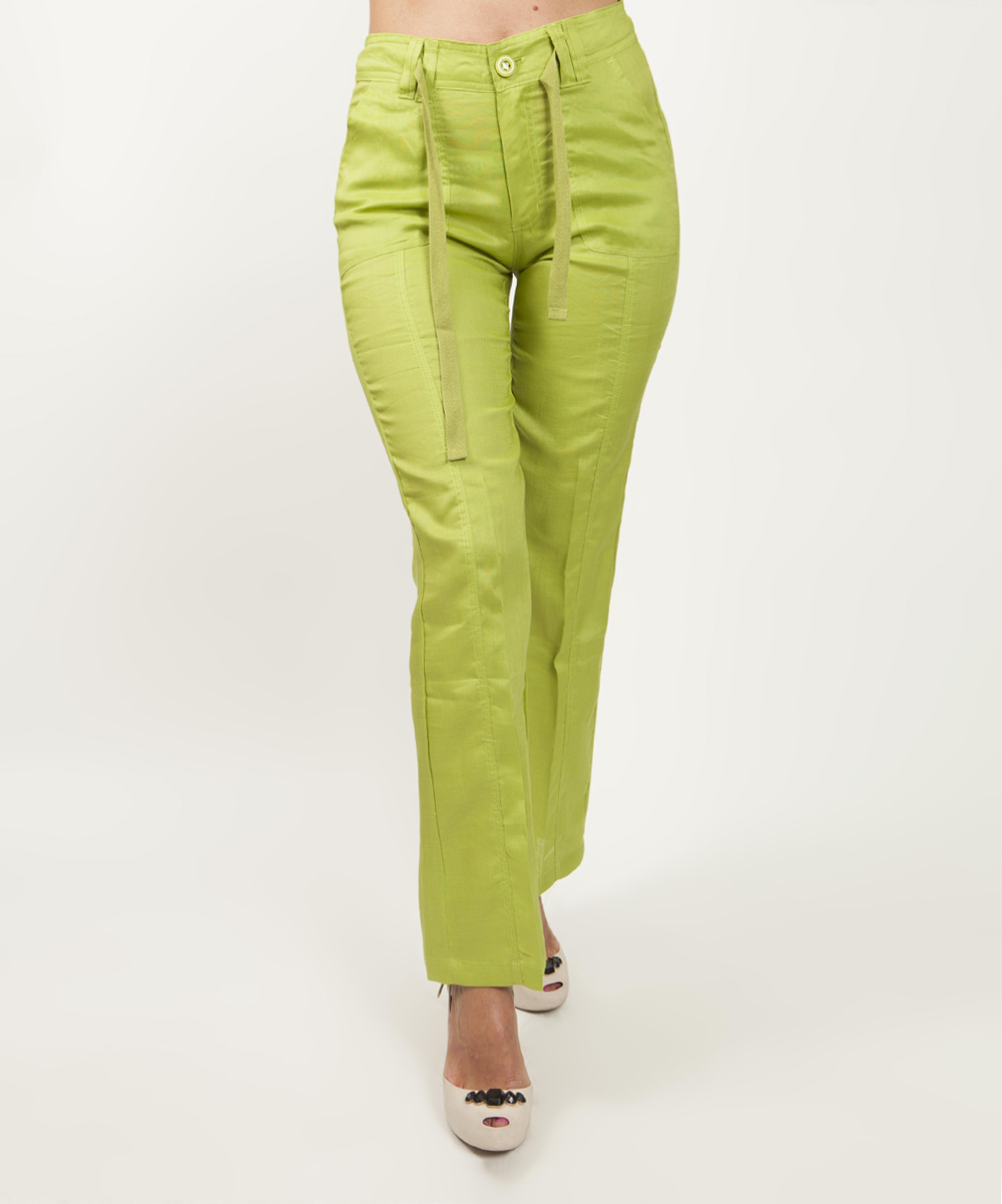 Cool New Light Lime Green Sexy Low Rise Soft Skinny Pants Junior39s Size 9