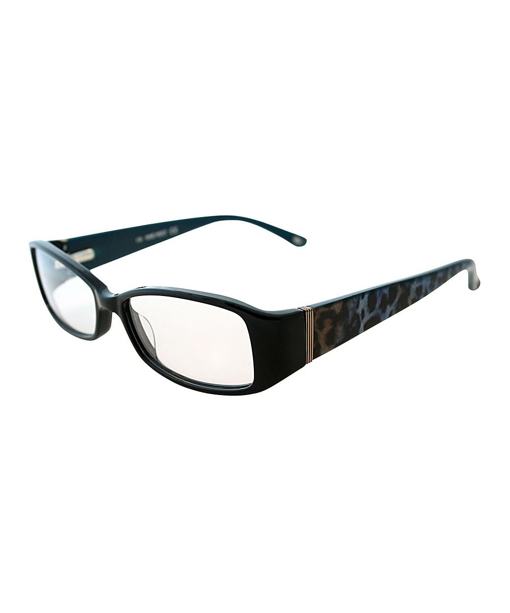 Nine West Black & Light Blue Eyeglasses zulily