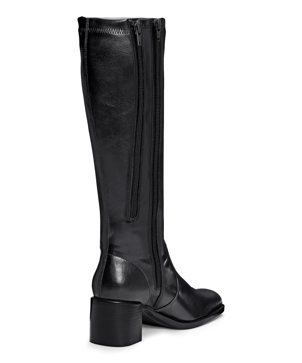 a2 by aerosoles black make two stretch wide calf boot zulily
