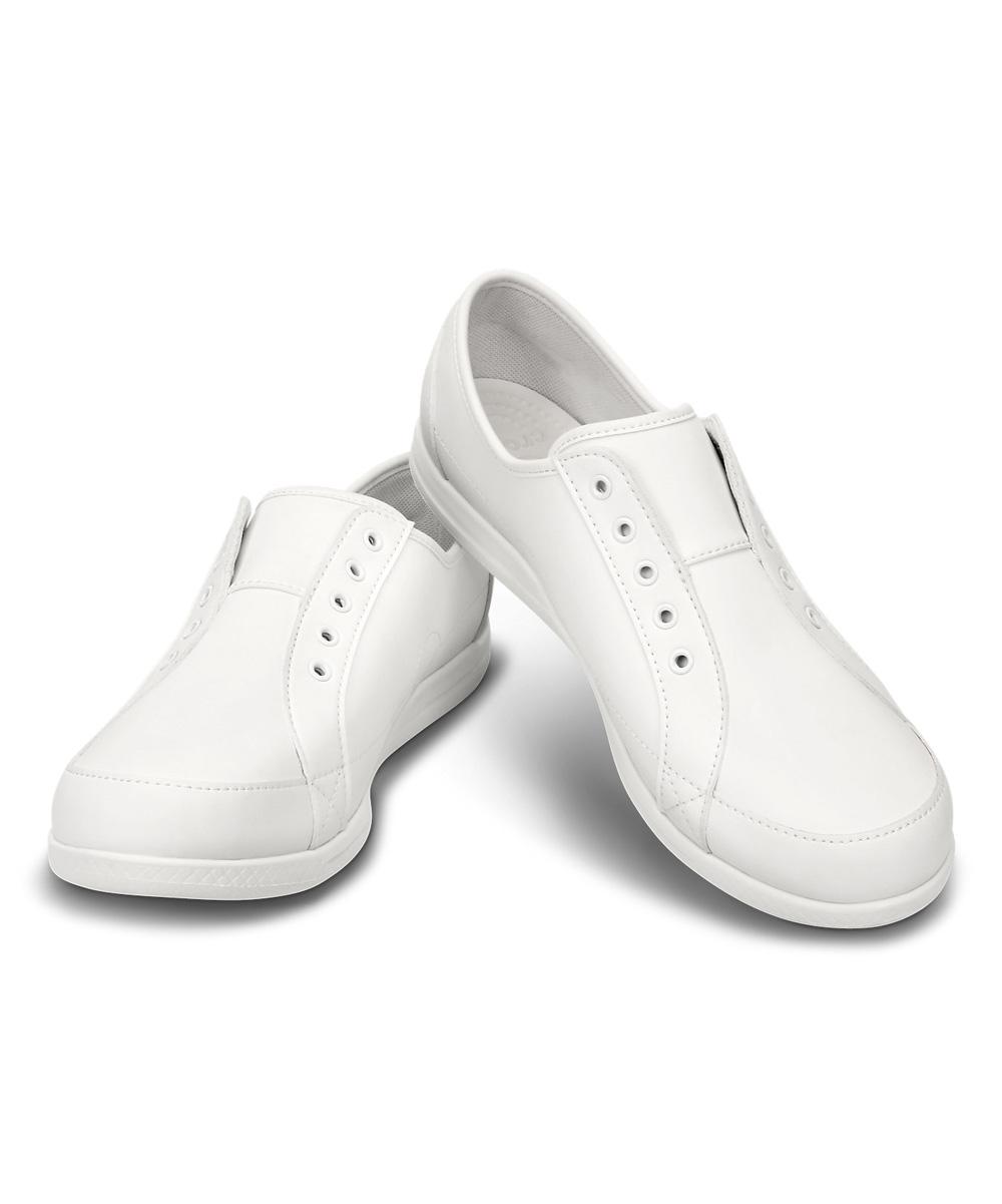 crocs white alaine sneaker zulily