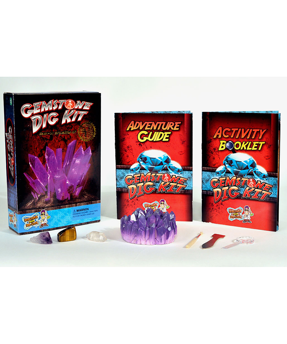 discover with dr cool gemstone excavation kit zulily