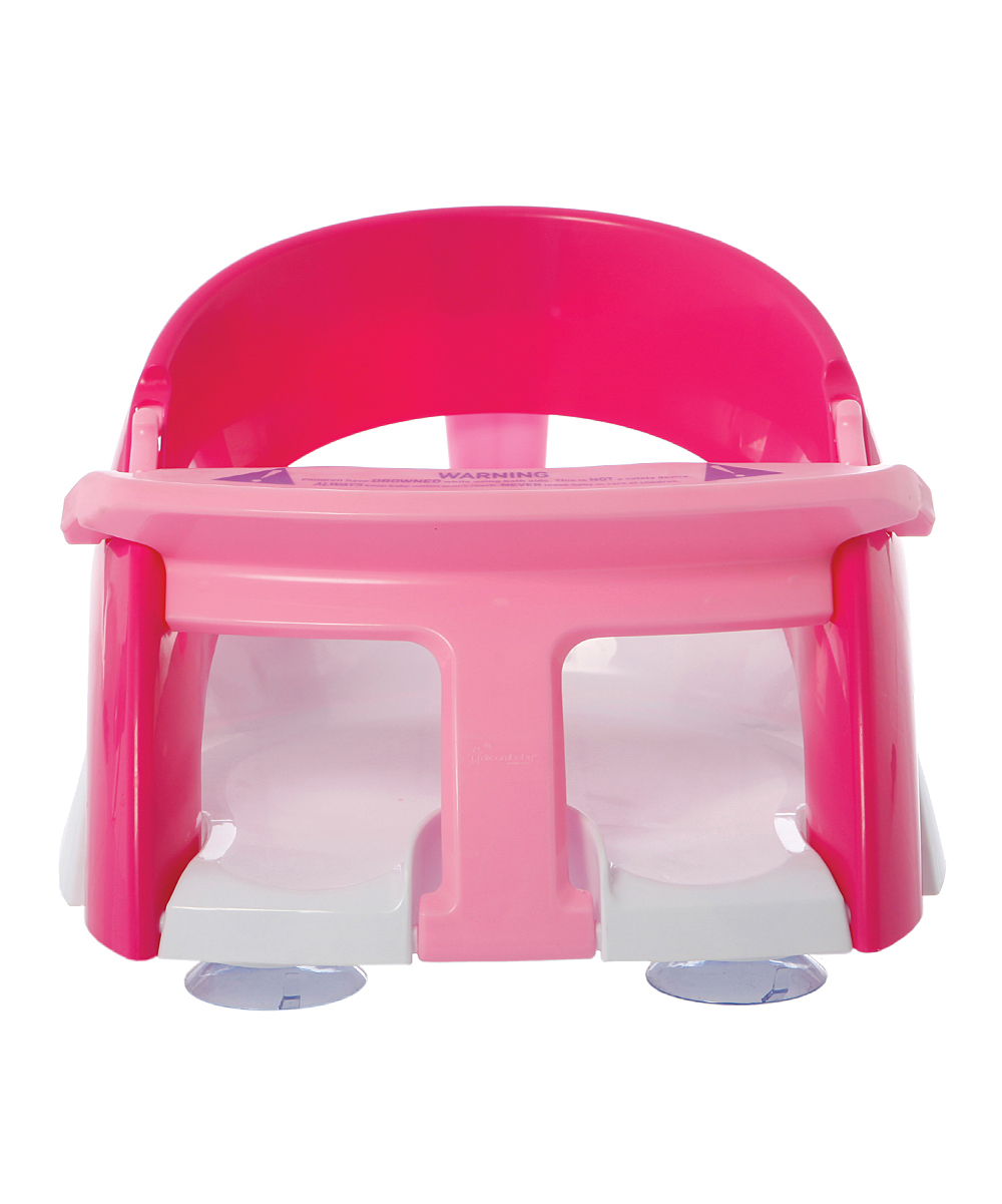 dreambaby pink deluxe bath seat zulily. Black Bedroom Furniture Sets. Home Design Ideas