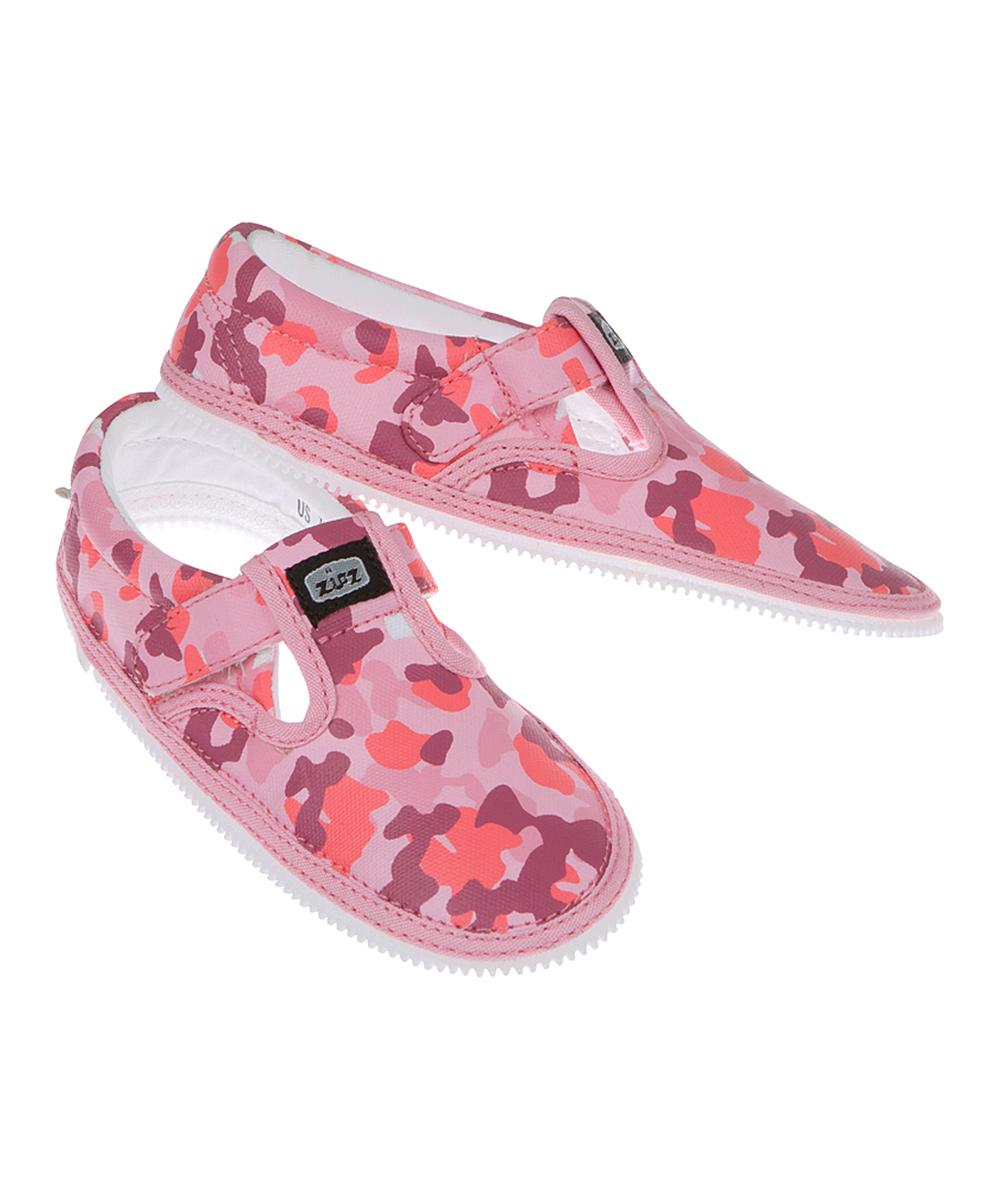 zipz shoes pink camo t sneaker zulily