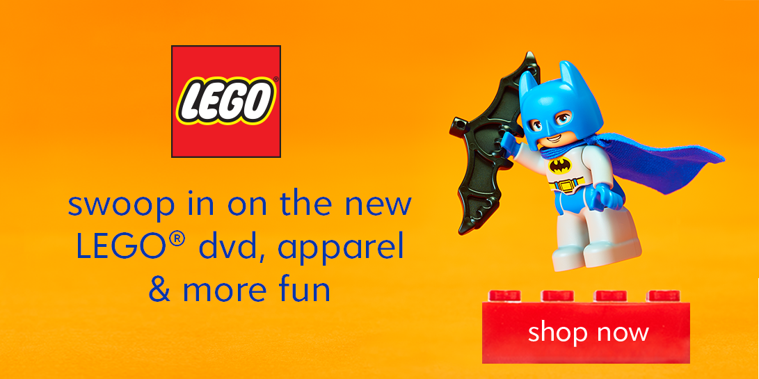 New DVD, apparel and more from LEGO. Shop Now!