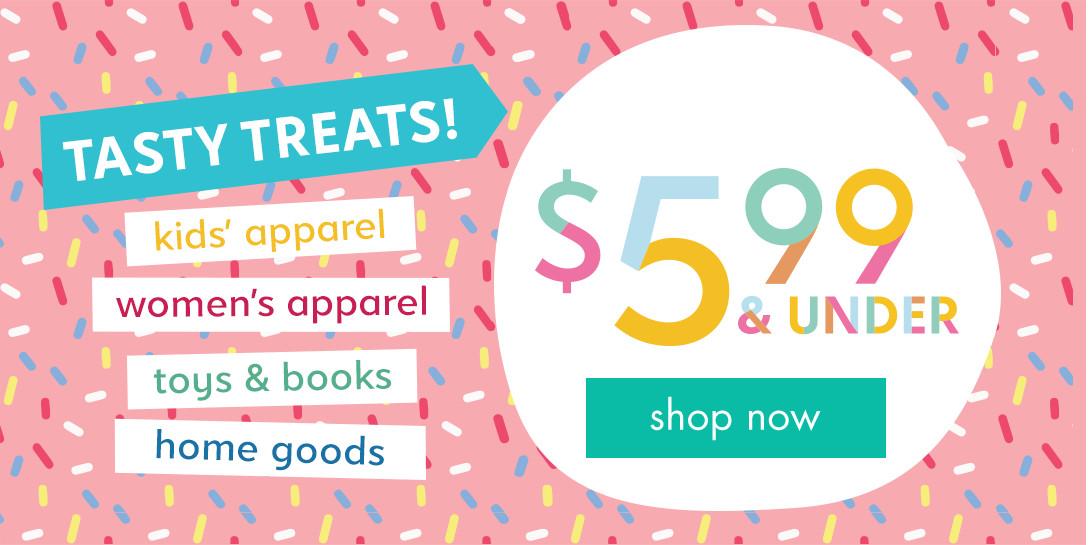 Shop these deals under $6!