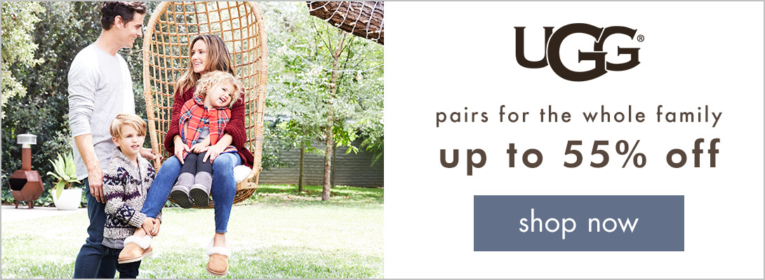 UGG up to 55% off! Shop now!